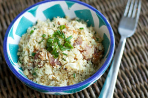Cauliflower-Rice-with-Bacon-Chives-2